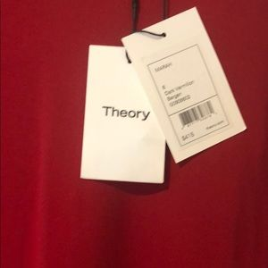 Theory dress  Marah dark  vermillion. Brand new